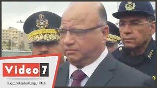 بالفيديو.. مدير أمن القاهرة يهنئ الشعب المصرى بذكرى ثورة 25 يناير وعيد الشرطة