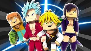 Melhor Mod Nanatsu no Taizai Para Série!! - Minecraft Pe 1.14 / 1.13 «AlexandreFer0iiz»