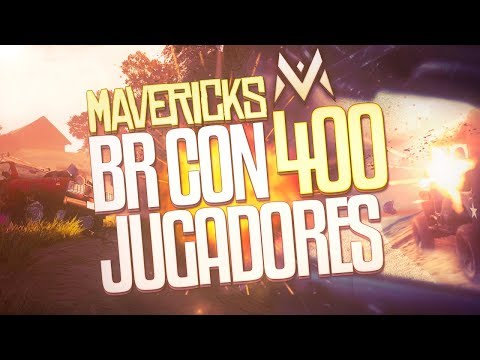 NUEVO BATTLE ROYALE CON 400 JUGADORES!!(Mavericks Proving Grounds)Project x trailer