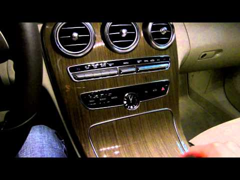 Mercedes C-Class W205 2014 2015 In Depth Review Build Built Quality Cabin Test