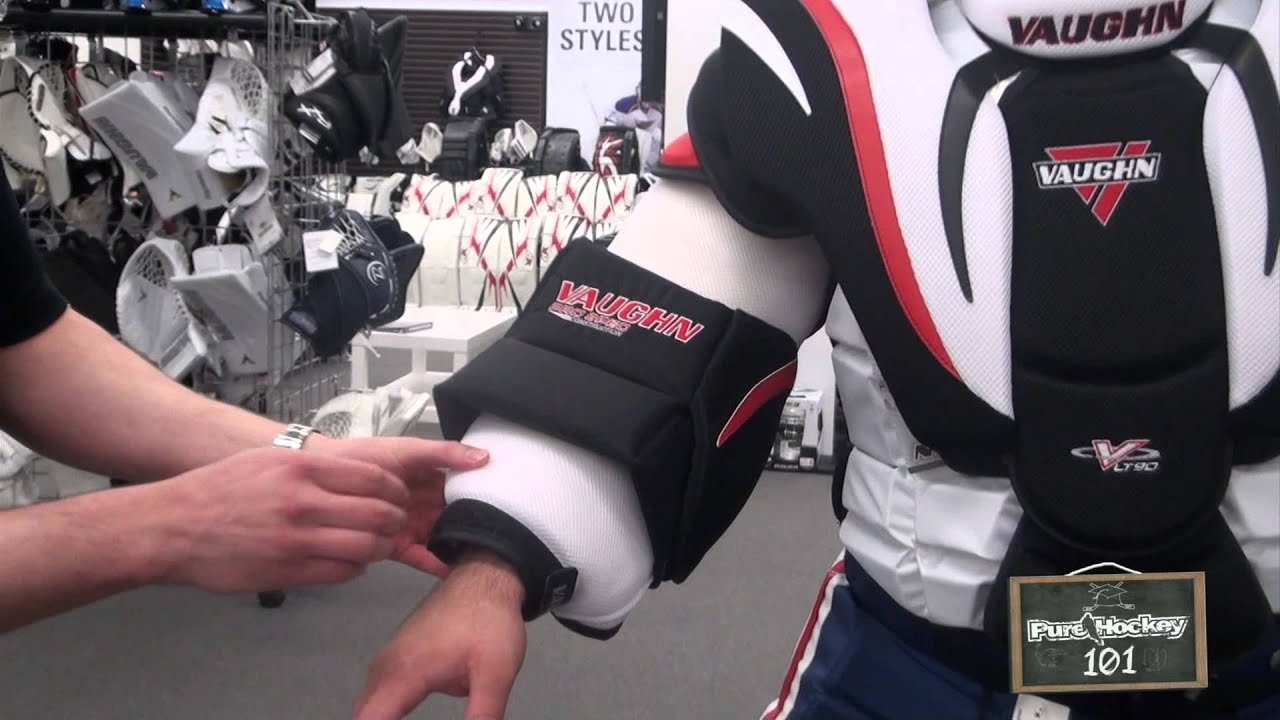 Fitting A Goalie Chest Protector Youtube