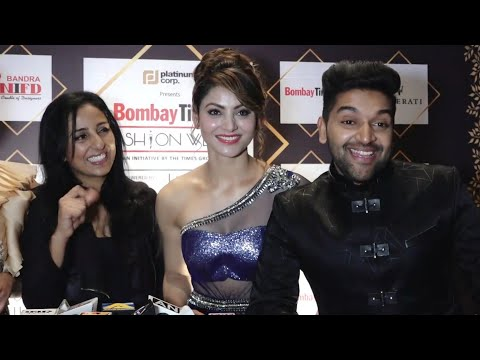 Guru Randhawa Singing High Rated Gabru Live at Bombay Times Fashion Weak 2018 | Urvashi Rautela