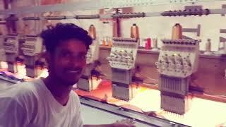 Biggest Embroidery Machine Work | Mumbai | Fahim Vlog
