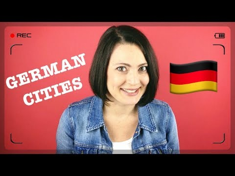 GERMAN CITIES with DIFFERENT NAMES in ENGLISH | #thoseGermans