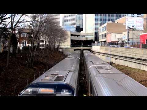 TTC Toronto Rocket Eglinton Portal