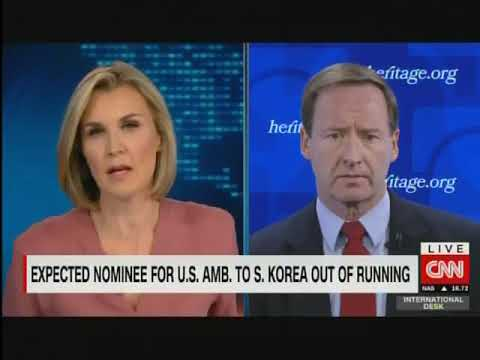 Bruce Klingner discusses Victor Cha and preventative military strikes