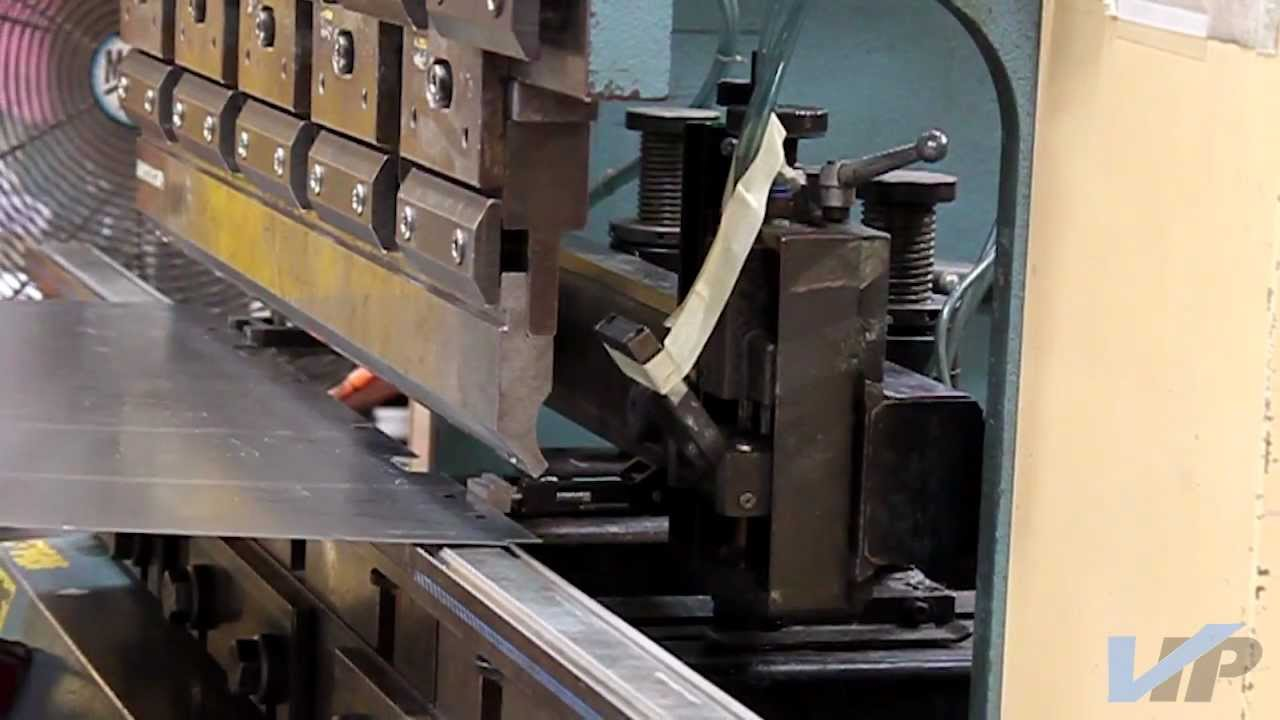 Vip Gauge A Press Brake Backstop Finger That Can Save A