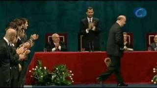 Del Bosque ofrece el Príncipe de Asturias a Luis Aragonés