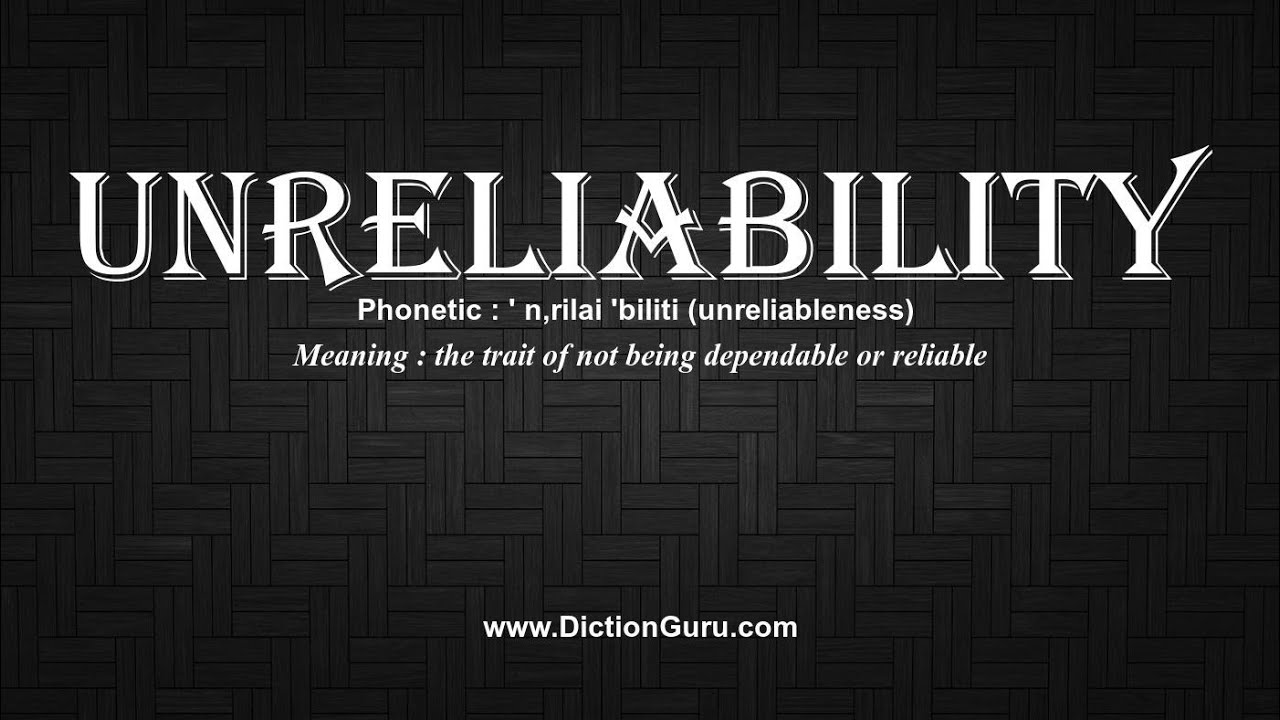examples of being dependable  u2013 improving yourself
