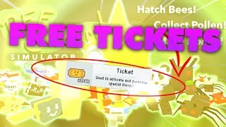 [Roblox] Bee Swarm Simulator: FREE TICKETS GLITCH (How to get FREE TICKETS)