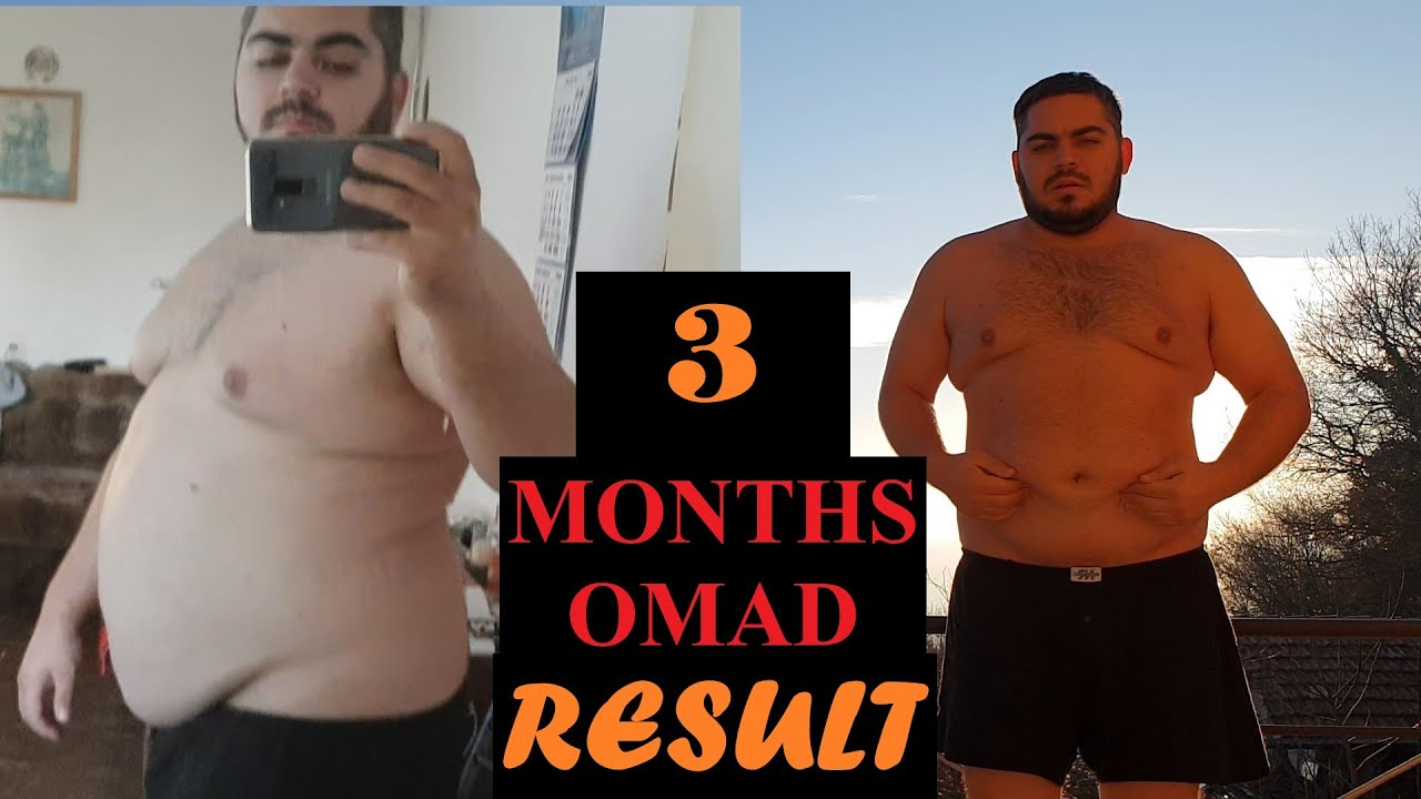 how much weight loss on omad