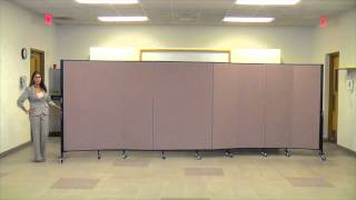 Screenflex Easy Room Divider Set Up