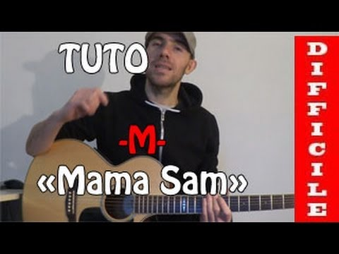photo partition guitare m mama sam
