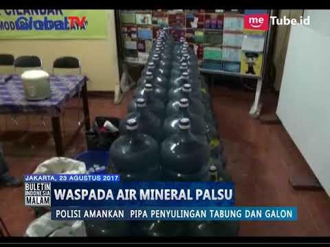 Waspada Air Mineral Palsu Dalam Galon Tersebar di Cilandak, Jaksel - BIM 23/08 thumbnail