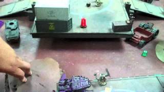 Orks vs Space Marines 04 Warhammer 40K Battle Report (Mesa Starport)