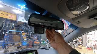 기아자동차 그랜드카니발 차량에 ECM 하이패스룸미러 설…