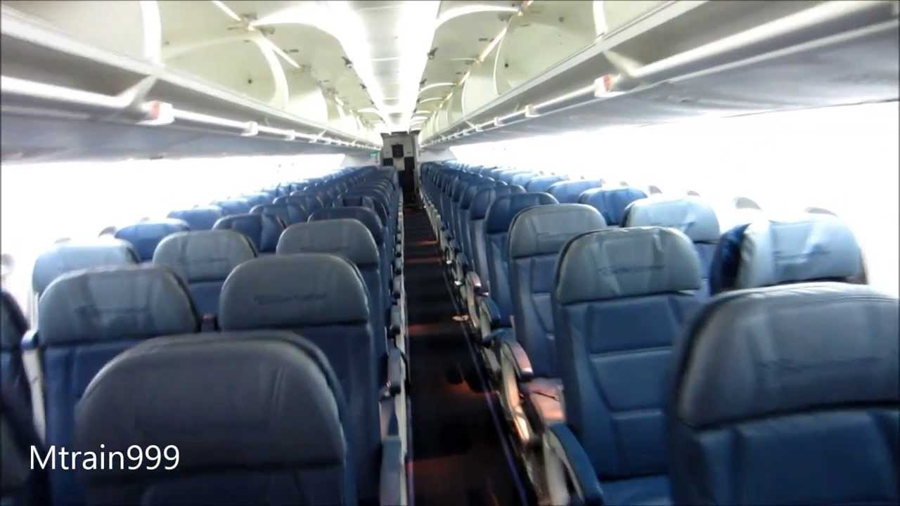 Delta Boeing 717 Cabin Tour Old Youtube
