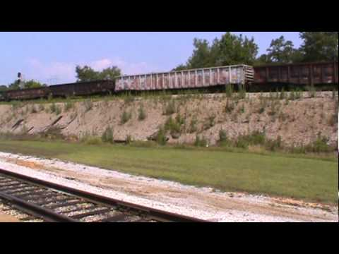 NS freight & SOU 630 at TVRM in Chattanooga,TN