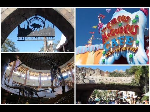Florida Day 1 & 2 - Is That A Real Dinosaur in Islands Of Adventure?
