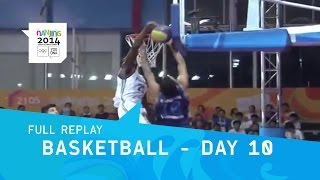 Basketball - Semi Final and Final Medal Matches   Full Replay   Nanjing 2014 Youth Olympic Games