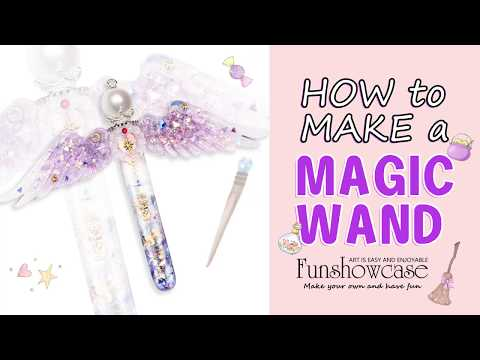 How to Make Resin Angel's Potion or Magic Wand by FUNSHOWCASE