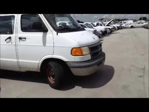Govdeals 24705 2001 Dodge Ram Van 1500 Swb