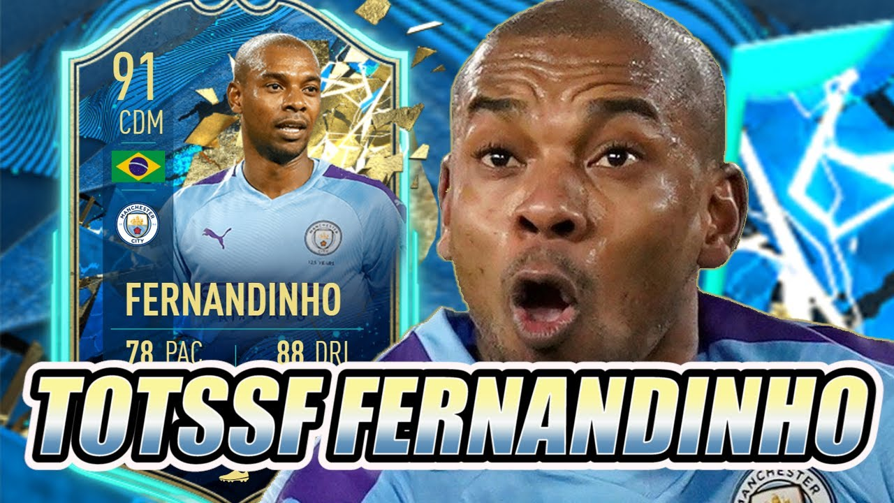 91 TOTSSF Fernandinho FIFA 20 Player Review - Is 78 PACE a Problem? -  YouTube