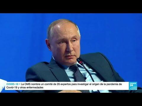 Vladimir Putin negó usar el gas como un arma geopolítica