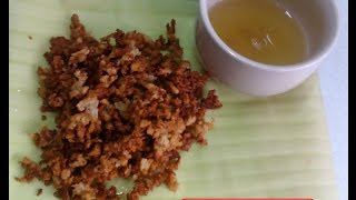 How To Make Latik / Toasted Coconut Milk Crumbs