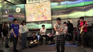 "TAP JAM on the street at ""SHIBUYA STATION"" part.02"