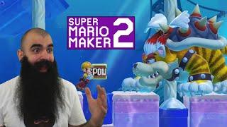 The Worst SMM2 Boss - Mario Maker 2: No Skip Endless Super Expert #22