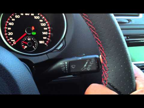 How to change settings and access phone menu on the base GTI and Golf