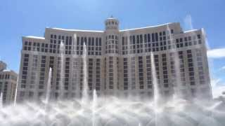 Bellagio Water Fountain Show Las Vegas, Nevada. Awesome! Full Video!