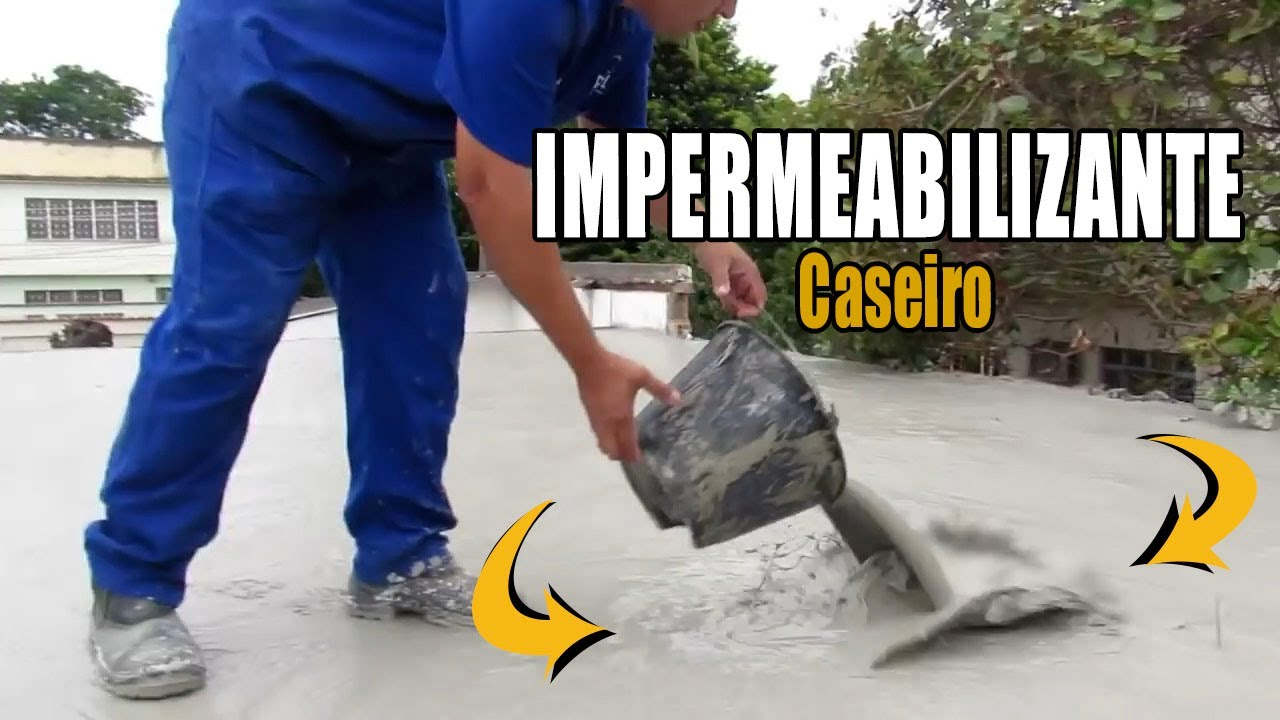 Impermeabilizante caseiro youtube for Impermeabilizante para estanques de agua