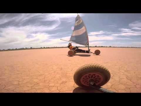 Claypan land  sailing