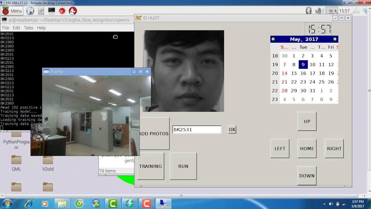 Nhận dạng khuôn mặt (Face Recognition using Raspberry Pi) #1