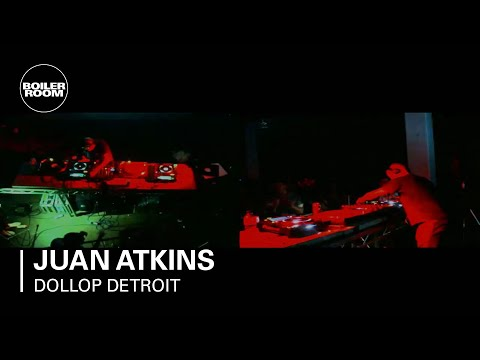 Juan Atkins 130 min Boiler Room Broadcasts DJ Set at Dollop Detroit Series