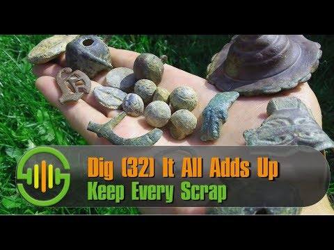 Metal Detecting UK Dig | 32 | Keep Every Scrap ▼ It could be