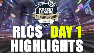 RLCS SEASON 6 DAY 1 HIGHLIGHTS (Funny and best moments)