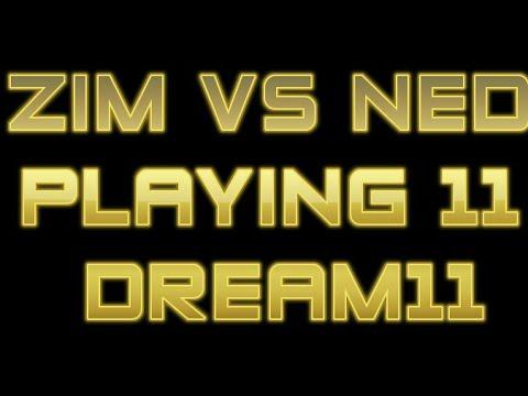 Dream11 Zimbabwe VS Nederlands (Zim VS Ned) 1st ODI 20 June 2017