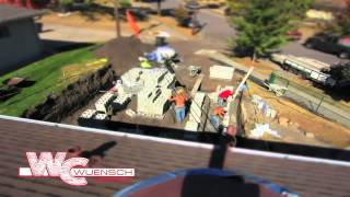 Wuensch Construction - Minneapolis New Garage Foundation Work Time Lapse Movie