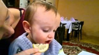 Citronek schvalne či sa ti zbehnu sliny :-)))
