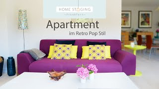 Apartment im Retro Pop Stil