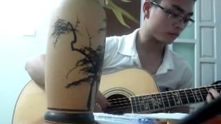 Anh cũng sống biết nghĩ biết đau- guitar solo Trinh acoustic