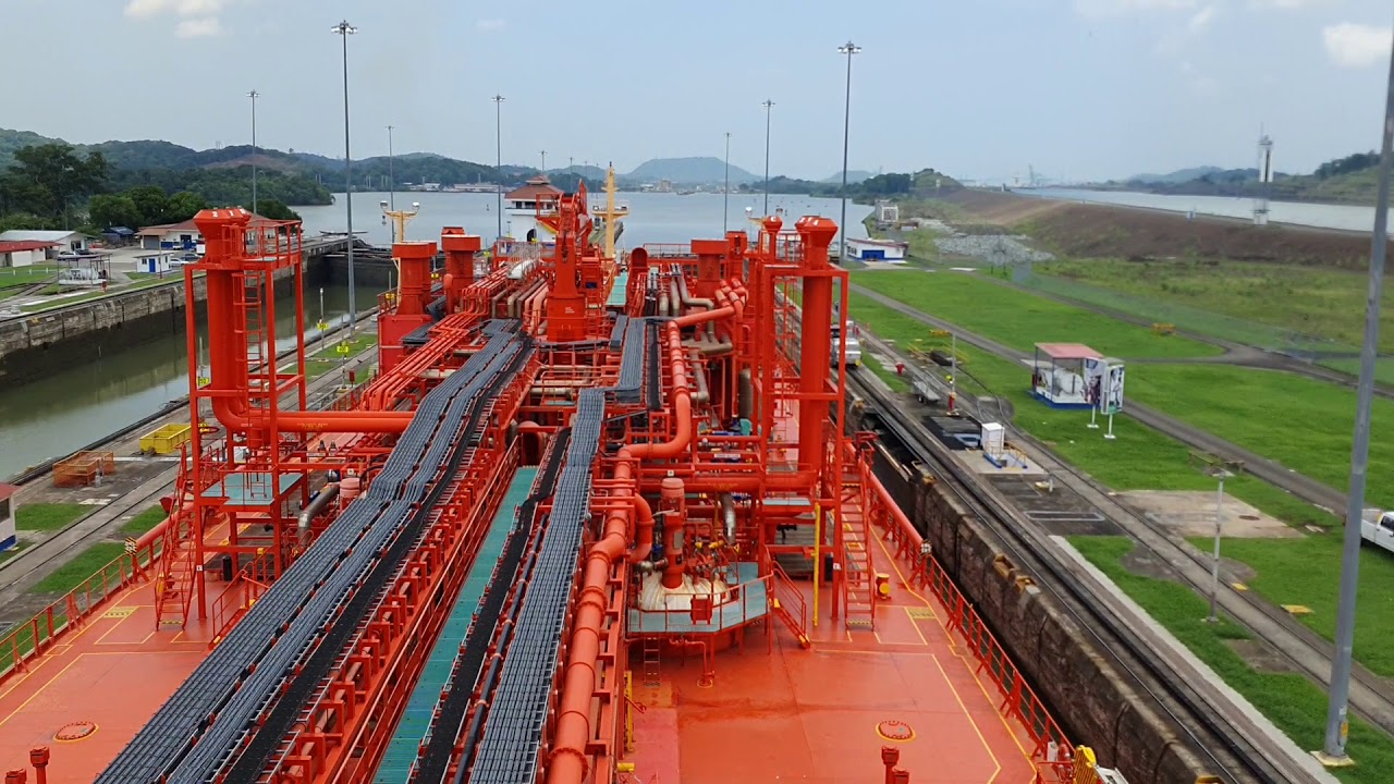 ENTIRE PANAMA CANAL TRANSIT 11h RECORDING TIMELAPSE