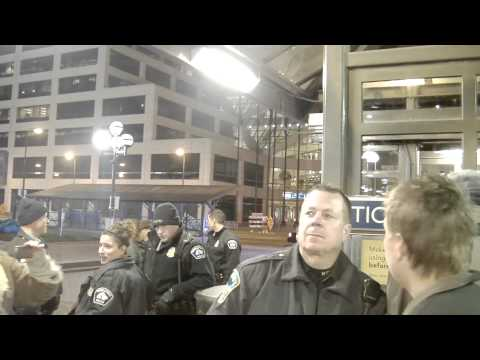 Stories from Occupy MN - Metro Transit Police Attempted Eviction
