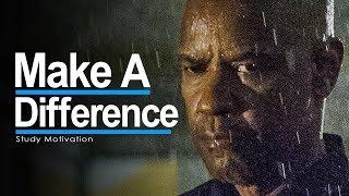 WORK HARD & MAKE A DIFFERENCE - 2018 Study Motivation