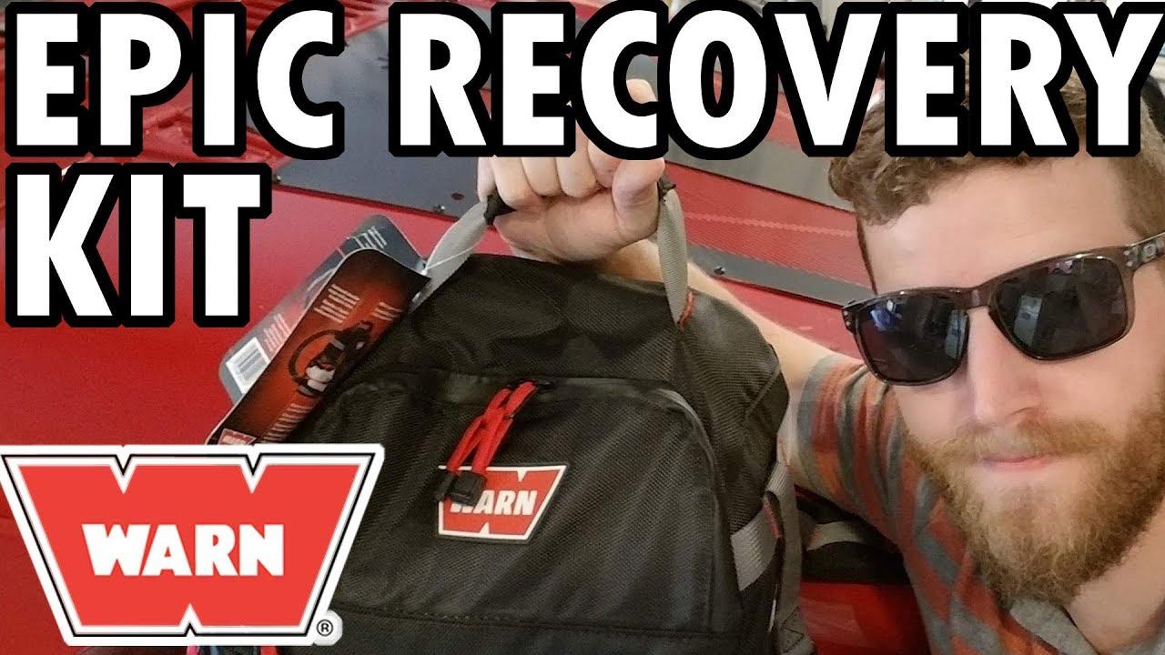 WARN 88924 3-Inch X 30-Feet Premium Recovery Strap