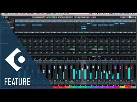 New MixConsole Snapshots | New Features in Cubase 10