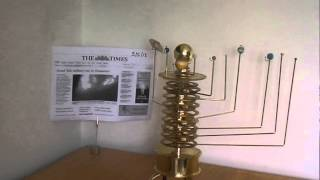 Build a Model Solar System Orrery Real Time - May 2013